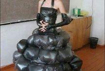 vestidos reciclable