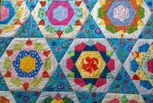 kite plus ruler quilts/blocks / by Stitch Quilt Knit