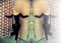 Mirror Effect / Hijab Fashion
