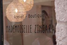 Atelier-Boutique Mademoiselle Zingara / Atelier-Boutique Sacs à mains et accessoires Bohème CHic Lyon 6