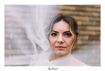 Rustic boho wedding photos Poland and England in forest park