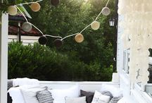 Small balcony / Small balcony decorating ideas