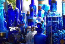 Синее стекло