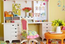 Dream Craft/Hobby Rooms / Favorite craft/hobby room ideas and inspiration! / by Keesia Wirt