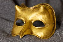Masks / Handmade artistic masks for Halloween, gift ideas and original decoration.