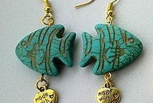Earrings Miss Daisy / Creations handmade by Miss Daisy