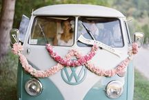 Flowers on vehicles