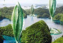 Futuristic architectures