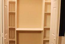 Closet Storage / by Amanda Bowling