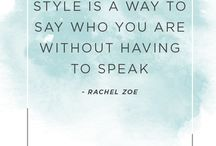 Fashionable Words of Wisdom