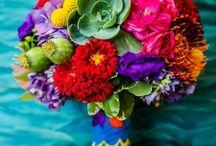 Spanish Flair Wedding Florals / Spanish inspired wedding flowers