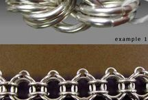 Intresting chain maille jewelry