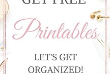Free Printables / Free printables for all sorts of things!