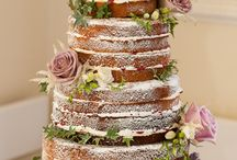 Naked Wedding Cakes / Ideas for naked rustic wedding cakes.