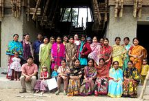 THE COLLECTION STORY / Didi textiles. The majority of the Bangladeshi lives in villages. While in cities the consuption gains more importance, the villages can produce a big share of their daily needs themselves. Whit this day-to-day creativity and culture the villages prove to be important culcure carriers. Thanks to this economical subsistence their ecological footprint is smaller than the cities, but what lacks are paid job opportunities.  www.diditextiles.com