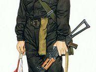 Soviet Uniform Drawings