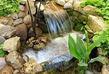 cascade da giardino
