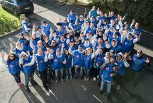 Retaking Roma / A fantastic day where the associates at Sheraton Roma volunteered to retake the EUR neighborhood equipped with brooms, brushes, paint and enthusiasm. Thanks everybody for the participation!