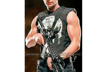 The Punisher Thomas Jane Black Leather Vest / Get this stylish Skull Thomas Jane Black Tactical Vest from Sky-Seller at most discounted price with free Shipping.