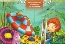 óvodai könyvek