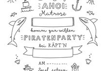 kindergeburtstag Piraten -Party