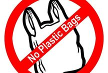 Bye Bye Plastic / California recently banned plastic bags, soon it will follow in other states. Stock your shelves with these bags to advertise your logo!