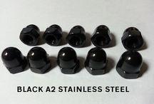 Black Stainless Steel Fasteners
