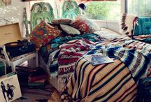 Bohemian decor / by Aline