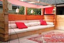 Bahçe mobilya