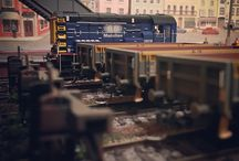 Inglenook South Model Railway / An 00 gauge / 4mm scale shunting puzzle based in the south of England in the 1990s / 2000s.