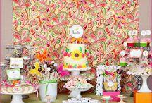 Ideias de Festinhas / ideias de decoração para festinhas