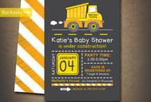 Baby shower construction