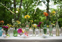 Amelia's backyard wedding 5/16/15 / by Amy Gower