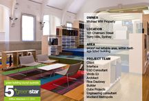 Sustainable Interiors / Green Star-rated fitouts and interiors