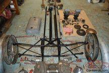 Morgan 3 wheeler  - in bits