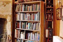 Двери в книжных полках