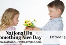 National Days Observed