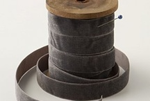 Wooden cotton spools