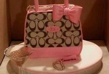 I LOVE COACH / Coach purses, cakes, etc. / by Sassy Celebrations