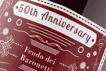Baronetti / Anniversario etichetta vino