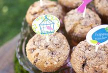 Garden Party   Ideas, Decorations and Inspiration / Garden party ideas, including party decorations, garden themed sweets and treats, printables and party activities.