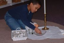 Godly Play / Creative worship for all ages during activity and Celebration times for Messy Churches