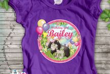 Kids Birthday Stuff - Personalised Kids Stuff / Hip Hip Hooray, Is your mini peep celebrating a birthday? Then why not help them feel extra special with one of our super awesome SPATZ Mini Peeps® Personalised Kids Birthday Tshirts or Unbreakable Kids Plates featuring a First Name, Age or Birthdate. Makes a great My First Birthday Keepsake!