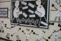 Snowman Bulletin Boards and Doors