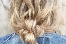 Hair / Pretty hairstyles/colors to try one day