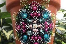 Цветочные горшки