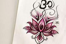 Lotus flower / My artwork