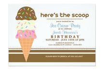 Birthday Sweeties / Fun, cute, custom birthday party invitations just for kids