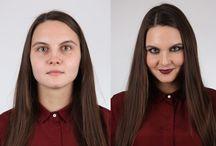 """make up / выпускные работы учеников школы профессионального макияжа """"Образ"""", г. Хабаровск"""