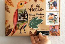 Snail Mail / Mail art